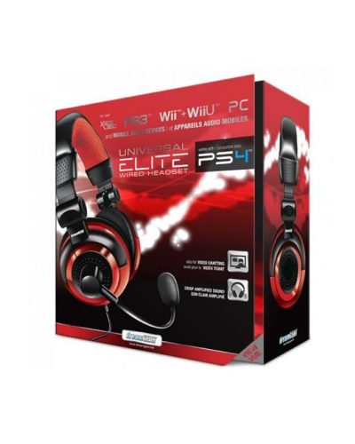 Detalhes do produto acs headset dreamgear universal elite 02571