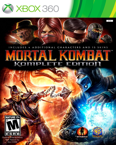 Detalhes do produto xbox 360 mortal kombat komplete edition