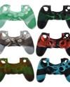 Detalhes do produto sony4 acs silicone controle