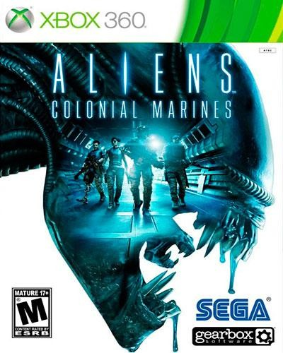Detalhes do produto xbox 360 aliens colonial marines