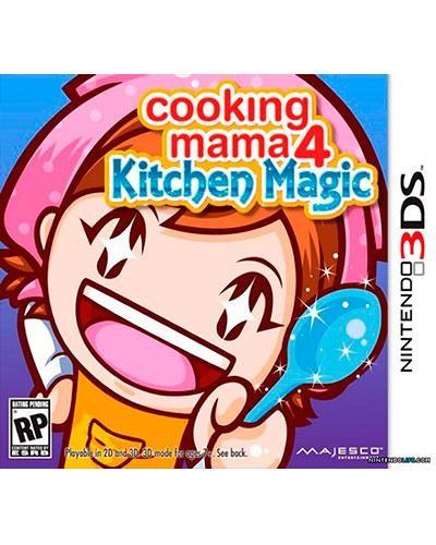 Detalhes do produto ds 3d cooking mama 4 kitchen magic