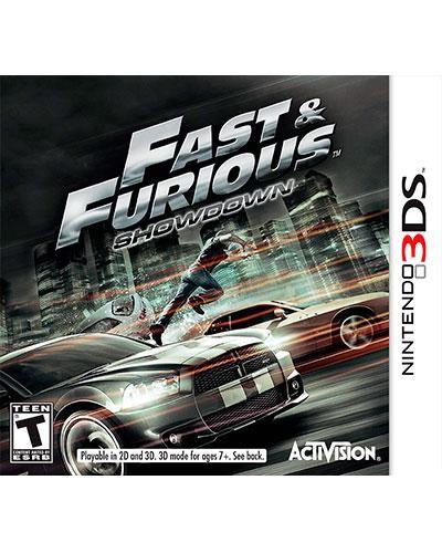Detalhes do produto ds 3d fast   furious showdown