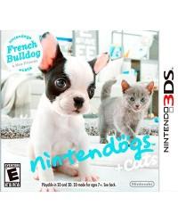 Detalhes do produto ds 3d nintendogs cats french bulldog