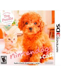 Detalhes do produto ds 3d nintendogs cats toy poodle