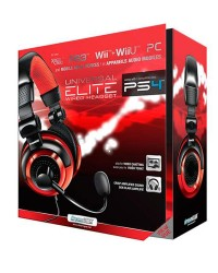 Detalhes do produto acs headset dreamgear universal elite 03855