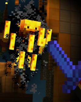 sony4 minecraft story mode adventure - Foto 1