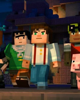 sony4 minecraft story mode adventure - Foto 2
