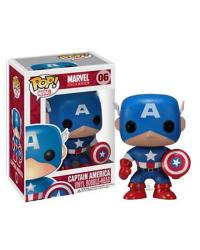 Detalhes do produto pop marvel  06 captain america 2224