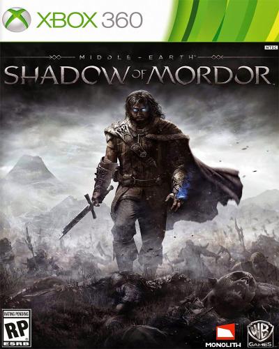 Detalhes do produto xbox 360 middle earth shadow of mordor