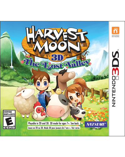 Detalhes do produto ds 3d harvest moon the lost valley new