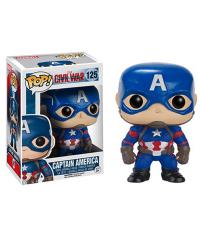 Detalhes do produto pop civil war 125 captain america 7223