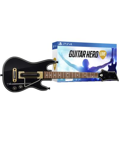 Detalhes do produto sony4 guitar hero live guitar