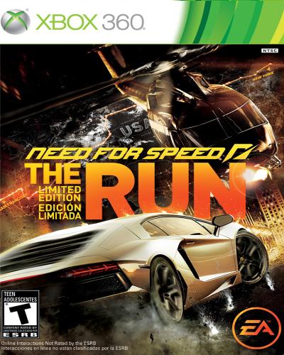 Detalhes do produto xbox 360 need for speed the run