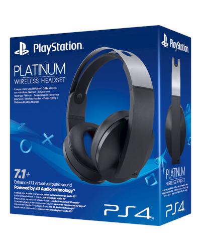 Detalhes do produto sony4 acs headset platinum wrls 50457