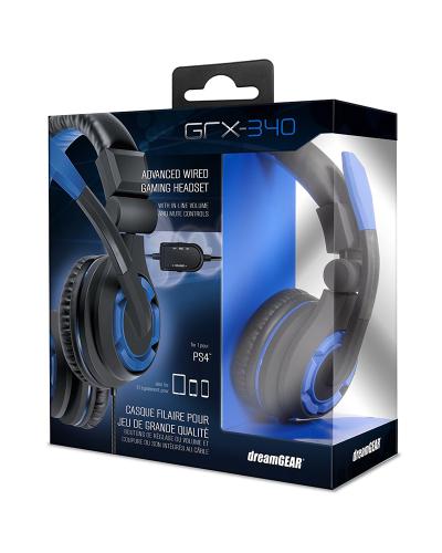 Detalhes do produto acs headset dreamgear grx 340 06427