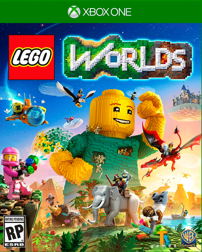 Detalhes do produto xbox one lego worlds new