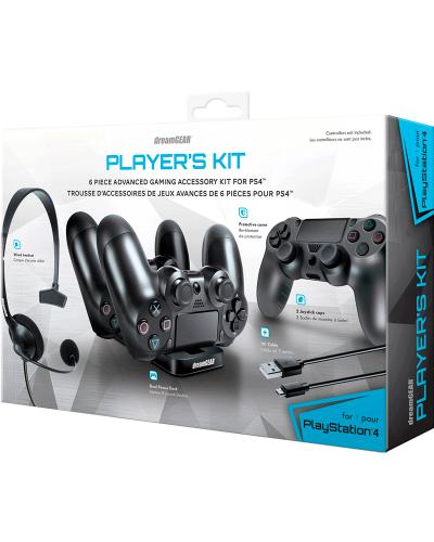 Detalhes do produto sony4 acs kit gamer dreamgear 06436