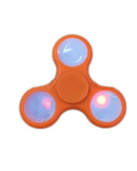 Detalhes do produto hand spinner  led  laranja