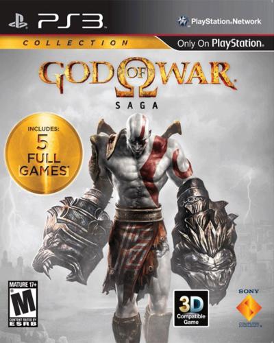 Detalhes do produto sony 3 god of war saga
