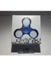 Detalhes do produto hand spinner  chroma led  azul