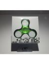 Detalhes do produto hand spinner  chroma led  verde