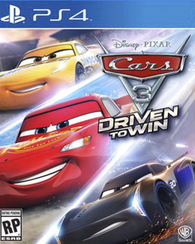Detalhes do produto sony4 cars 3 driven to win