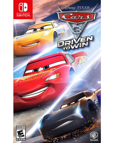 Detalhes do produto switch cars 3 driven to win