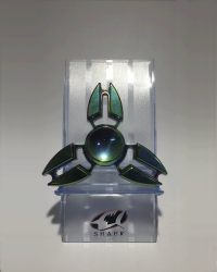Detalhes do produto hand spinner  metal  ponta dupla
