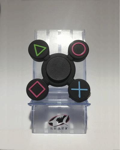 Detalhes do produto hand spinner botao play