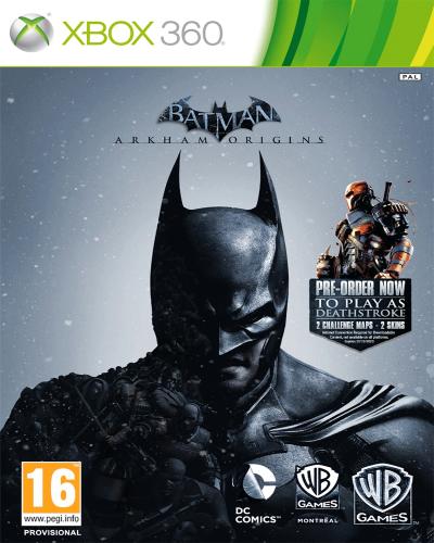 Detalhes do produto xbox 360 batman arkham origins