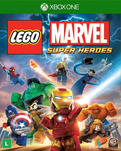 Detalhes do produto xbox one lego marvel super heroes