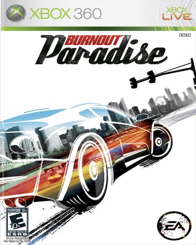 Detalhes do produto xbox 360 burnout paradise