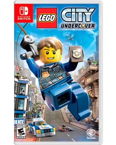 Detalhes do produto switch lego city undercover