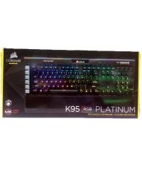 Detalhes do produto corsair teclado k95 rgb ch 9127014 br platinum