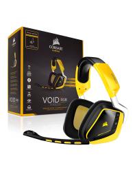 Detalhes do produto corsair headset void ca 9011135 na ylw 7 1 wireles