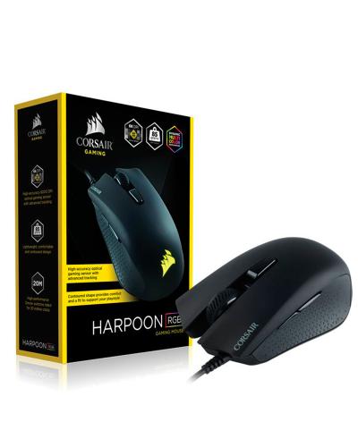 Detalhes do produto corsair mouse harpoon rgb ch 9301011 na 6000dpi