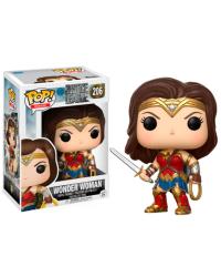 Detalhes do produto pop justice league 206 wonder woman 13708