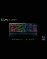 Detalhes do produto razer teclado ornata chroma 02040200
