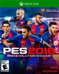 Detalhes do produto xbox one pro evolution soccer 2018