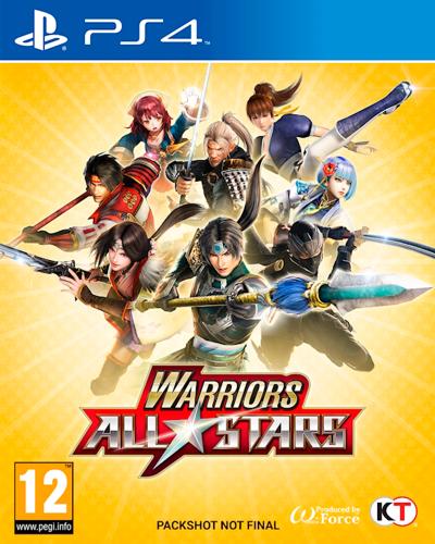 Detalhes do produto sony4 warriors all star