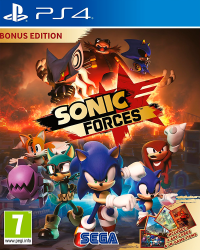 Detalhes do produto sony4 sonic forces edition