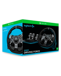 Detalhes do produto logitech racing wheel g920 xbox one