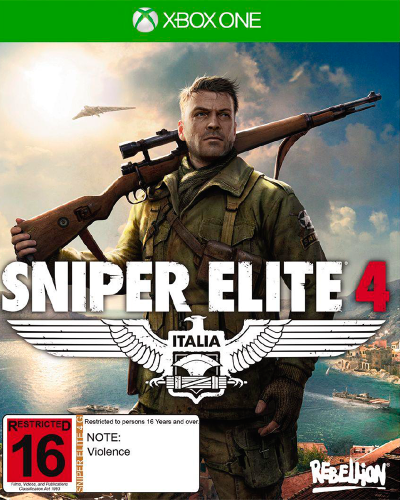 Detalhes do produto xbox one sniper elite 4 new