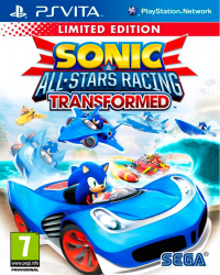 Detalhes do produto psvita sonic   all star racing