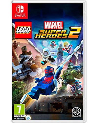 Detalhes do produto switch lego marvel super heroes 2
