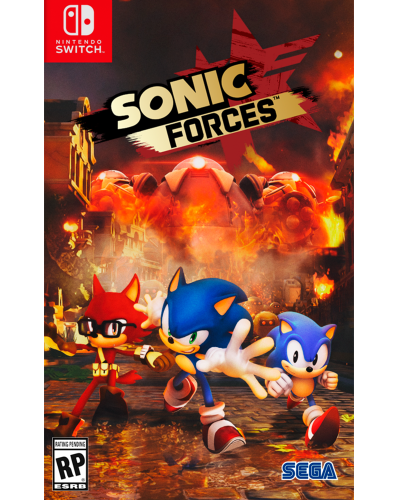 Detalhes do produto switch sonic forces