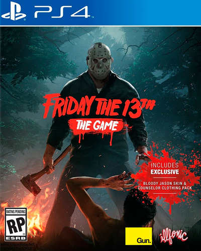 Detalhes do produto sony4 friday the 13th the game