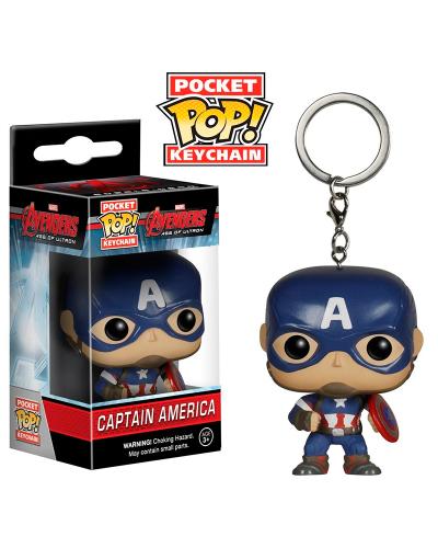 Detalhes do produto pop chaveiro avengers captain america 5224