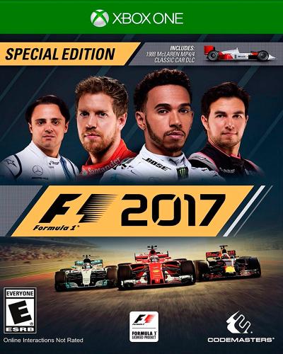 Detalhes do produto xbox one f1 2017