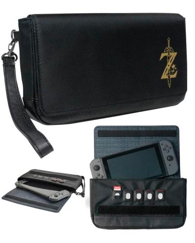 Detalhes do produto switch acs case sleek zelda hori o68u